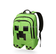 NEW Minecraft Children School Backpack Waterproof Book Storage Bag with Tags