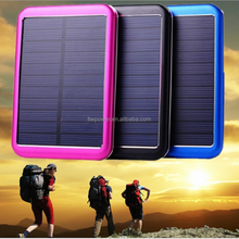 2015 Trending new products 10000mah waterproof rohs solar cell phone charger