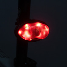 New Design with high quality silicone led bike/bicycle light bike tail laser light