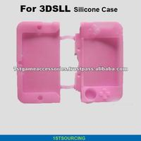 Silicone Protective Skin Case Cover for 3DSLL