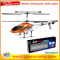 3.5CH Metal RC Helicopter Gyroscope Airplane Model Toys
