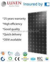 320W high power pv mono solar panel in China with full certificate