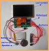 Customized 4.3 inch Greeting Card Video Module LCD Brochure Module MP4 Video Module in Box Supply