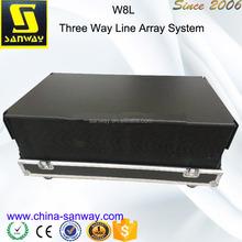 W8L Long Throw Line Array Speaker Pa Equipment System