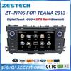 ZESTECH 2013 auto accessories 3g wifi car stereo head unit for nissan teana car audio