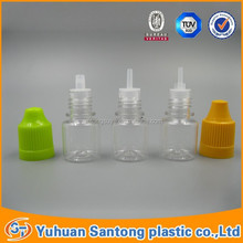 any cap color is available for 3ml PET plastic empty e-liquid bottle with screw cap