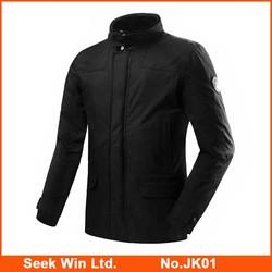 Custom Lightweight Motorcycle Rain Jacket Moto Clothing Wear-resistant Motorbike jackets with Protector Gear
