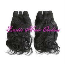 Exotichair virgin remy hair lot natural black hair care products wholesale