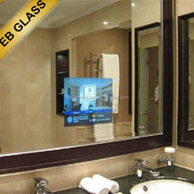 Built-in TV Window,Hidden Television Mirror for hotel, Waterproof LCD TV EB GLASS BRAND