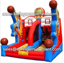 outdoor games Inflatable basketball hoop shoots game for sale sp-sp019