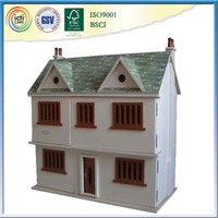 Wood log house popular kids wooden playing toy
