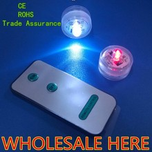 Submersible water proof led,led lighted candle,remote controlled submersible led light