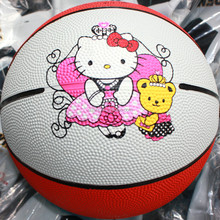 High quality Best-Selling graphic design rubber basketball