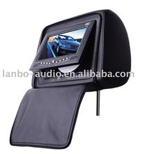2011 new 7'' Headrest Car DVD Player with fm transmitter