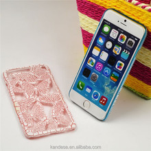 """Attractive The New Design Personalized Hard Plastic Butterfly Case For iPhone 6 6G Plus 5.5"""""""
