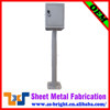Customized sheet metal fabrication outdoor battery charging cabinet