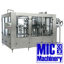 Best Chinese Mineral Water Filling Machine Price 6000-8000 filling speed 3 in 1 24-24-8 washing filling & capping