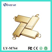 Hot new products for 2015 gold bar usb flash drive memorias usb 1gb 2gb 4gb 8gb metal usb flash