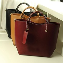Wholesale high end fashion handbags women genuine leather bag