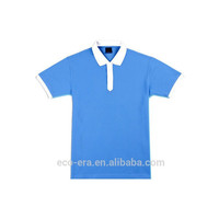 Two Tone Colors Polo Shirt , Alibaba Wholesale Stock Lot Low Price Mens Polo