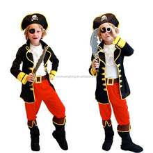 Children show costumes for Halloween pirate Pirates pirates clothes cos clothing eye mask