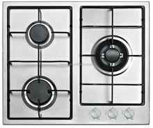 3 Burners Stainless Steel Gas Hob PG6031S-A1EIA