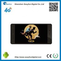 China wholesale Fashion newest Quad-Core 4G Lte With Android 4.4 Cell Mobile Smart Phone