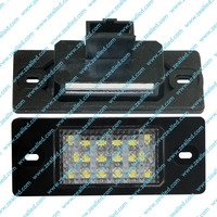 New Products Of 18SMD LED License Plate Light For Porsche Cayenne ,Emark Approved Car LED Rigistration Plate Light,