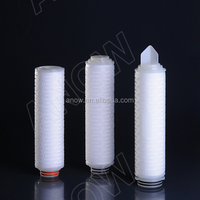 Long Service Life 0.2 Micro PTFE Liquid Filter Cartridge For Food&Beverage Industry