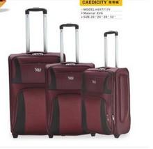 Fabric trolley luggage EVA trolley luggage cheap luggage