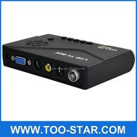 D LCD Digital TV Box / TV Tuner Receiver for PC LCD and CRT monitor, Digital DVBT computer TV Program Receiver