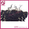 13*6 vital deep wave frontal lace dye black for brazilian hair pure straight lace frontal beautifully