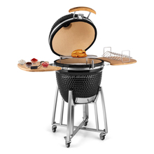 Hot Sale Big Shiny Gloss Barbecue Charcoal Grill