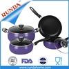 Non stick Purplefirst horse cookware sets