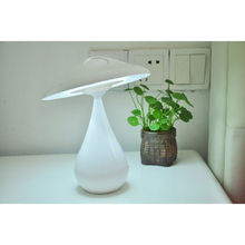 Mushroom bluetooth portable eye protection led desk lamp with touch dimmer adjustable