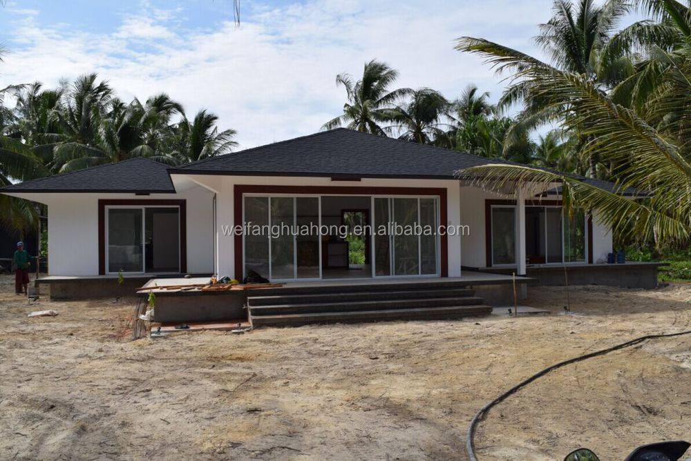 Construction economic flat roof modular house modern - Mobil home economicos ...