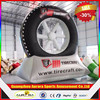 2015 New finished inflatable tire advertising, inflatable tire balloon with factory price