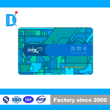Plastic Contact IC Card with SHC2242/Mixc Mall Expense Card/ Contact Smart Card