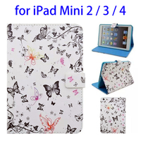 2015 new cute animals leather smart tablet case for ipad mini 2 3 4 case