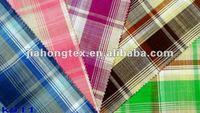 Slub Checked Fabric