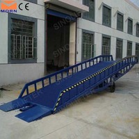 15 ton container ramp for forklift