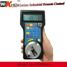 CNC wood engraving machine used wireless electronic handwhee CNC pendant hand held controller
