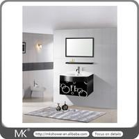 Bright color stainless steel bathroom vanity (MK-6038)