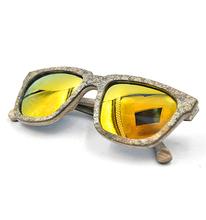 2015 Hot Selling Sandstone Wood Sunglasses With CE, FDA, UV400, New Model Glasses Frame
