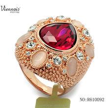 Viennois Imitation Ring Fashion Wedding Ring
