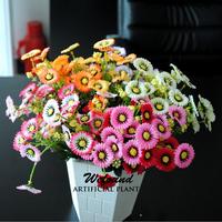 Artificial flowers flowers silk 7 fork 28 flower chrysanthemum Daisy bedroom display simulation money clove flower