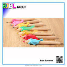 Hot-selling Dolphin Style silicone tip stylus pen decorating pen with magnet