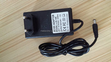 3S 12.6V 18650 li ion battery pack charger with US AC conenctor and 5.5*2.5mm DC connector