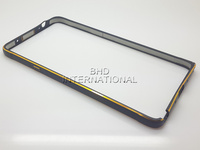 Wholesale double color metal frame for samsung galaxy note 4 DHL