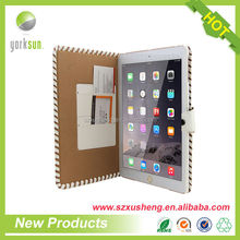 Luxury Leather original leather case for ipad air 2